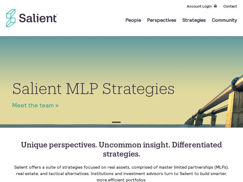 Real Asset & Alternative Investment Asset Management - Salient
