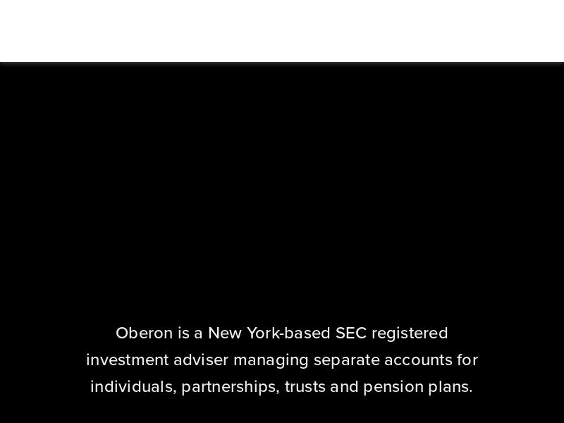 Oberon Asset Management LLC