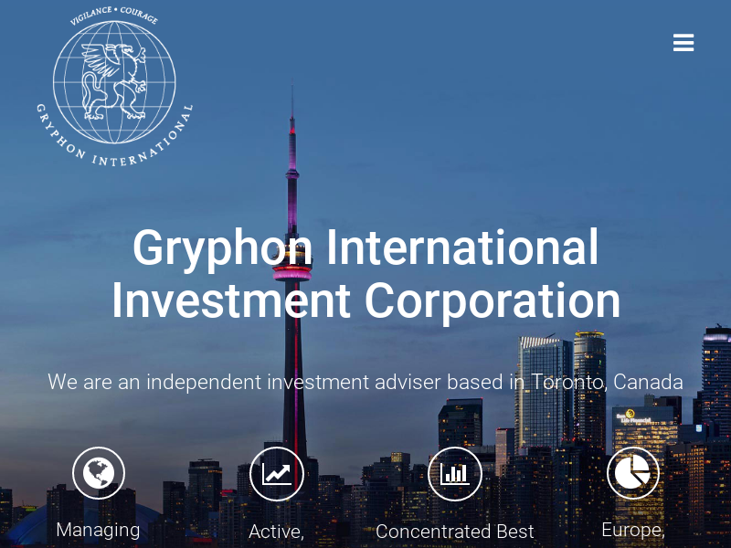 Gryphon International – Investment Adviser based in Toronto, Canada