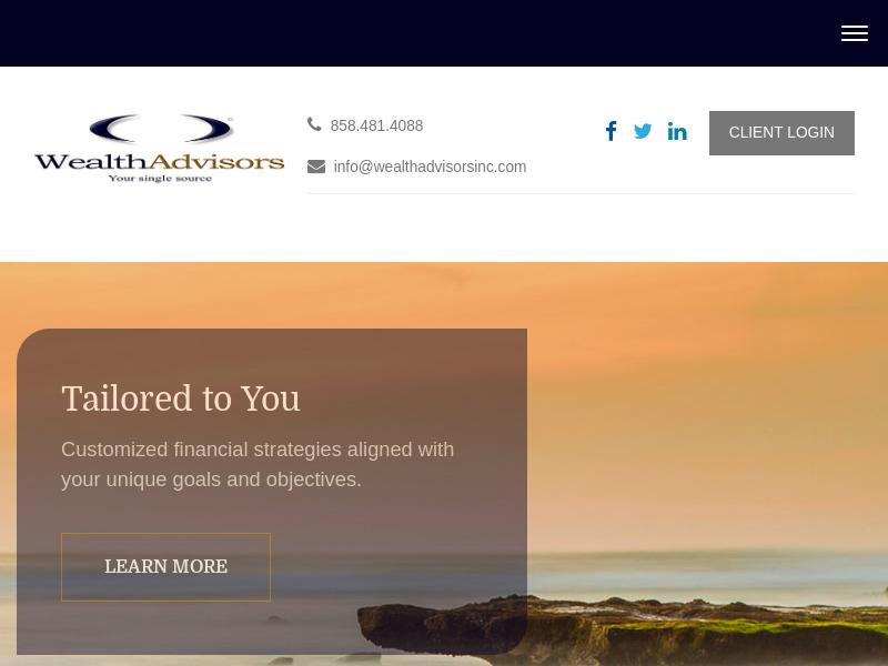 Home | Wealth Advisors Inc.