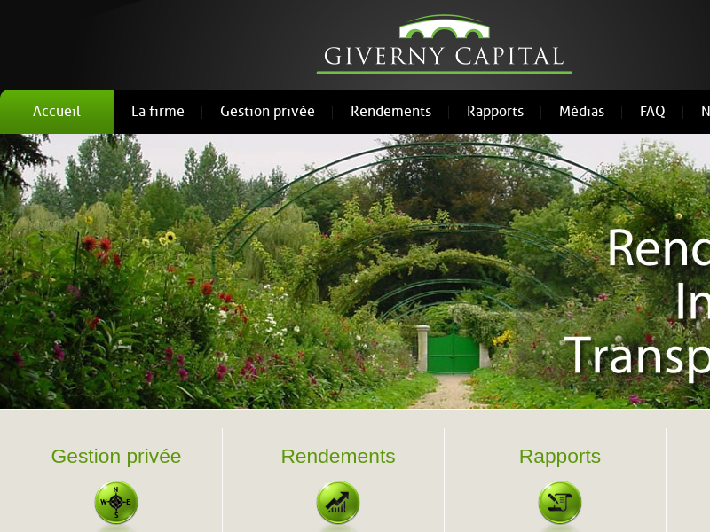 Accueil :: Giverny Capital
