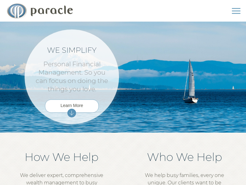 Paracle | Financial Advisors Bellevue, Seattle & Mercer Island
