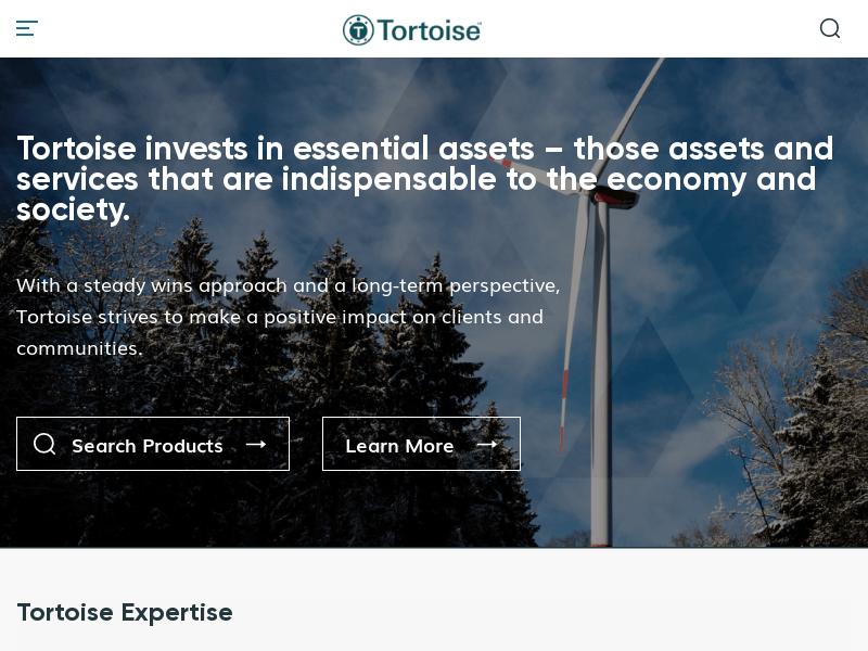 Sustainable Infrastructure | Tortoise