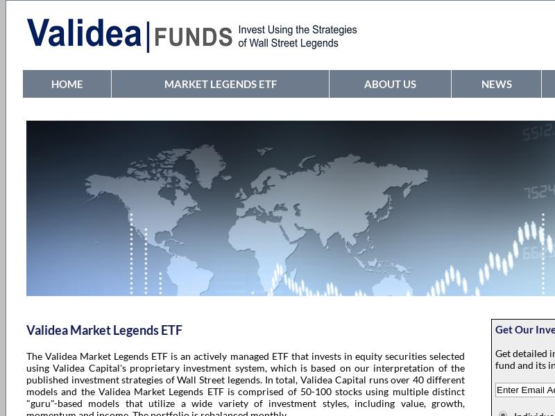 Validea Funds - Home