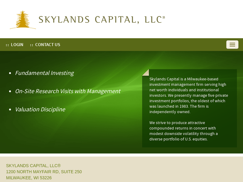 Home :: Skylands Capital