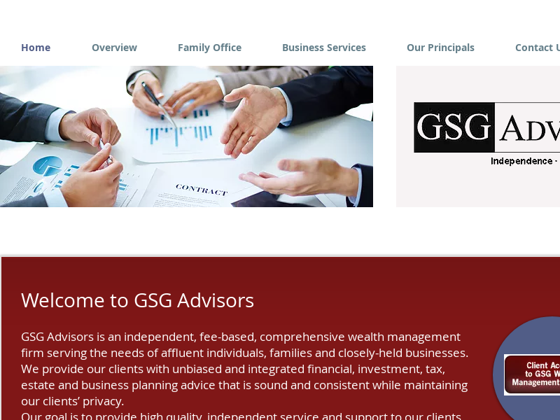 Wealth Managment | United States | GSG Advisors