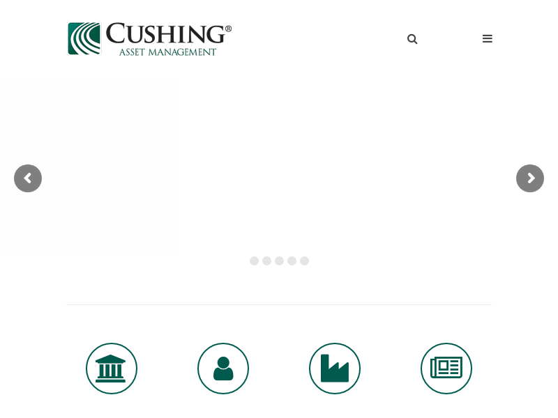 Home - Cushing Asset Management