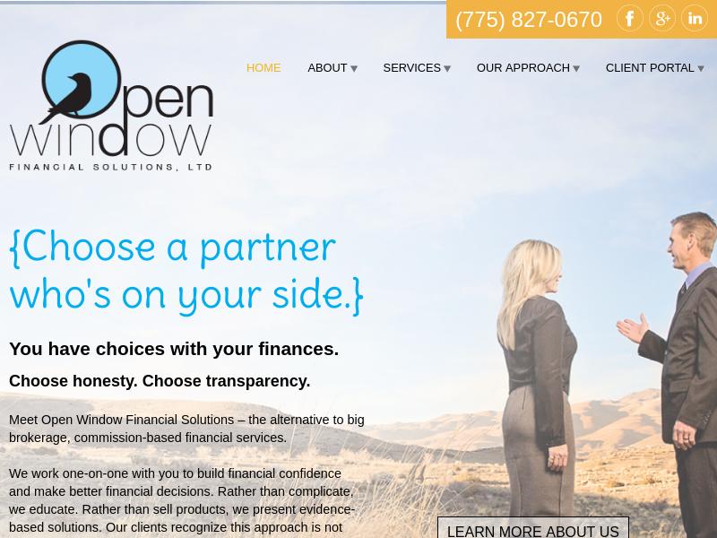 Welcome | Open Window Financial
