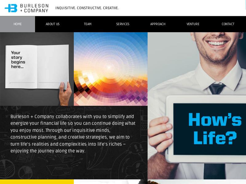 Burleson + Company | Inquisitive. Constructive. Creative.