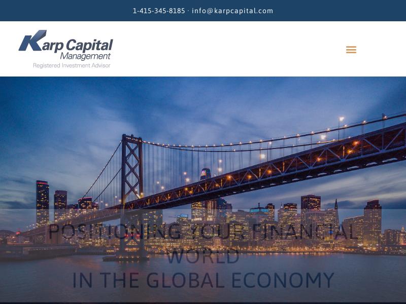 Karp Capital Management Corporation – Investment Advisors