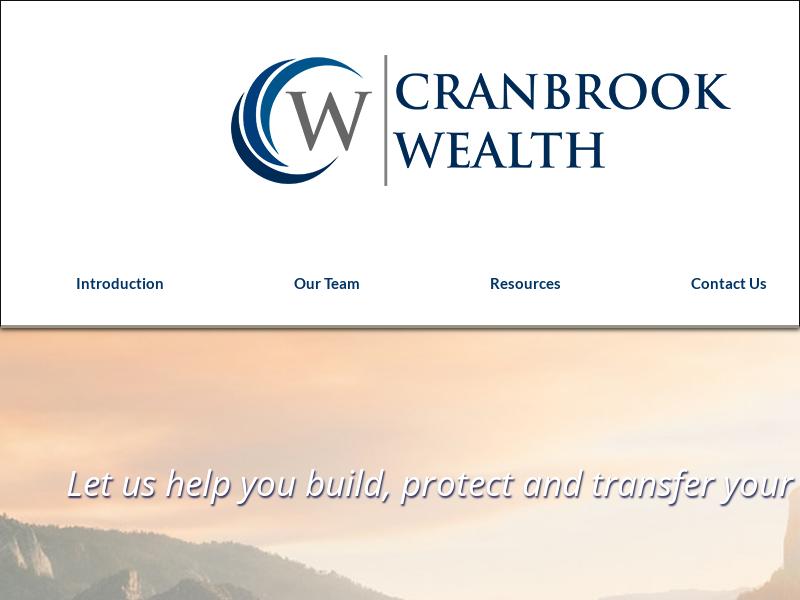 Introduction   Cranbrook Wealth Management
