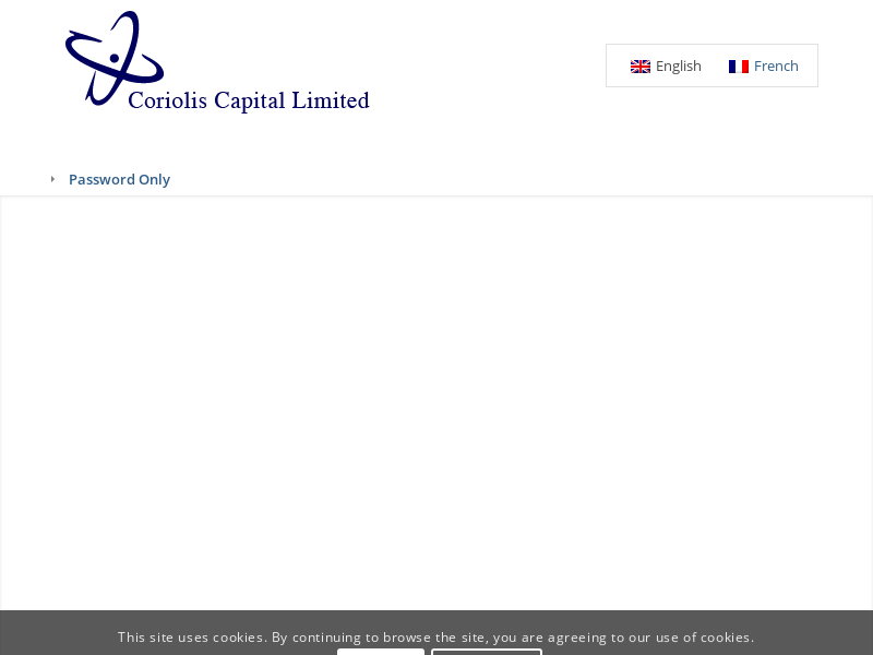Coriolis Capital Limited – Insurance Linked Securities Funds and Weather Risk Management.