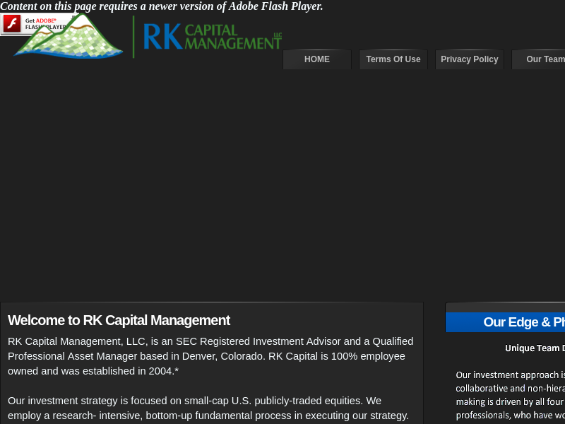 RK Capital Management, LLC