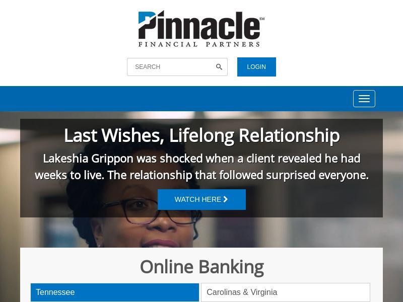 Pinnacle Wealth Advisors   Pinnacle Financial Partners