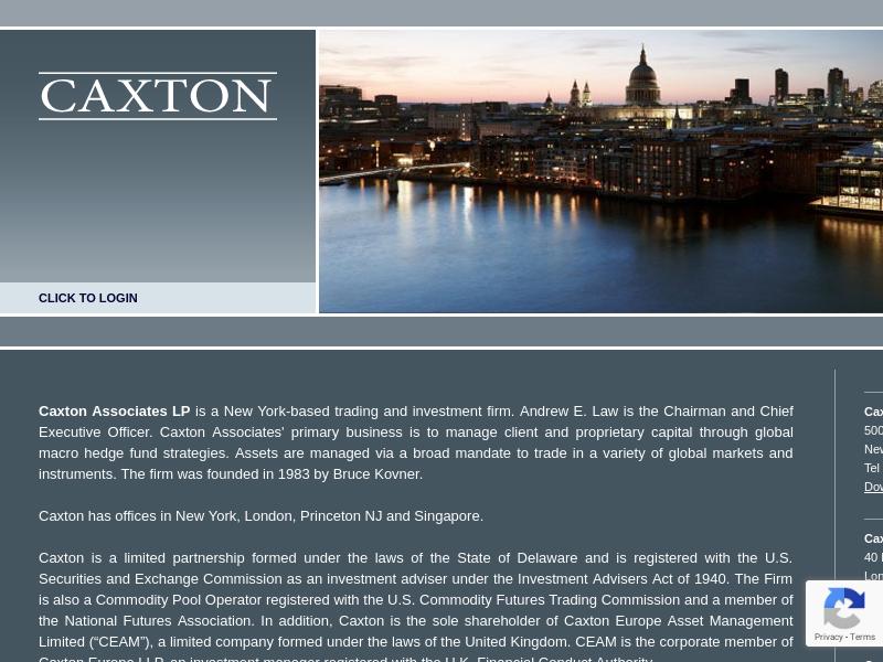 Caxton Associates LP | Investment & Trading