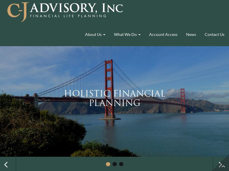 Home | CJ Advisory, Inc
