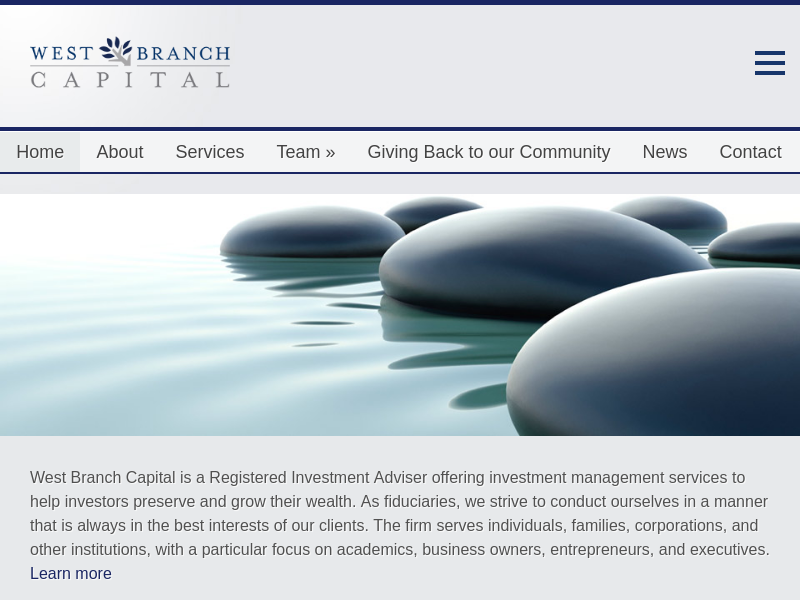 West Branch Capital LLC | Registered Investment Advisers