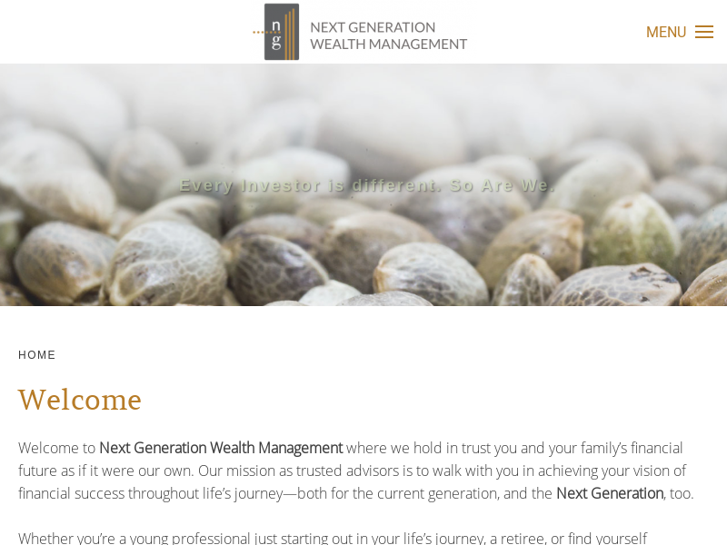 Next Generation Wealth Management - Home
