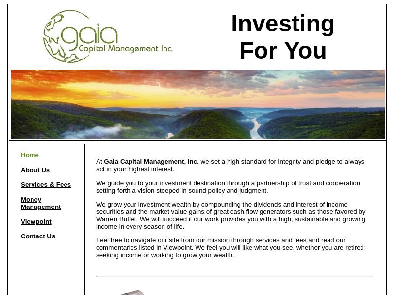 Gaia Capital Management, Inc.