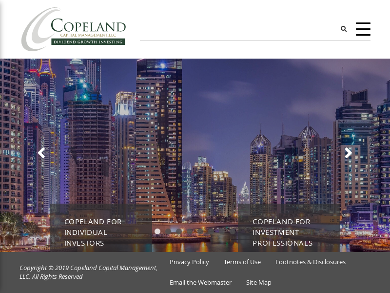 Copeland Capital | Dividend Growth Investing