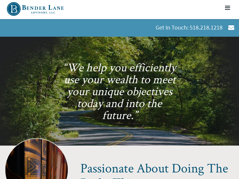 Bender Lane Advisory In Albany NY: Wealth Management, Financial Consultants & Family Risk Management