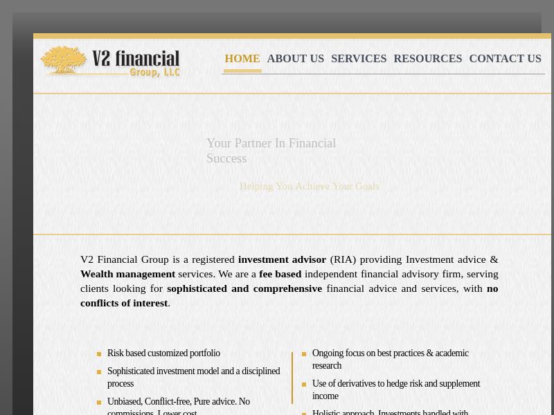 V2 financial Group, LLC