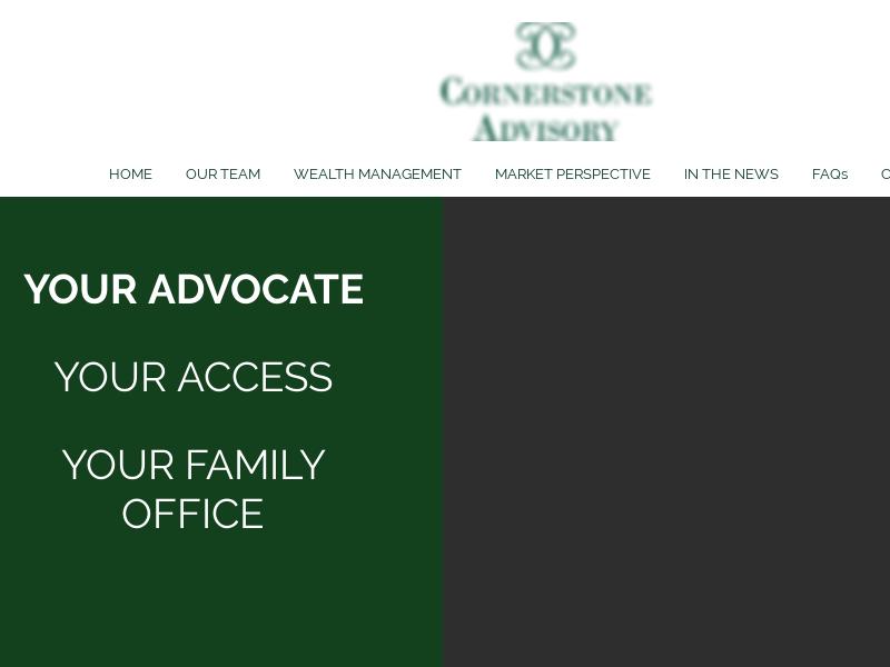 Cornerstone Advisory