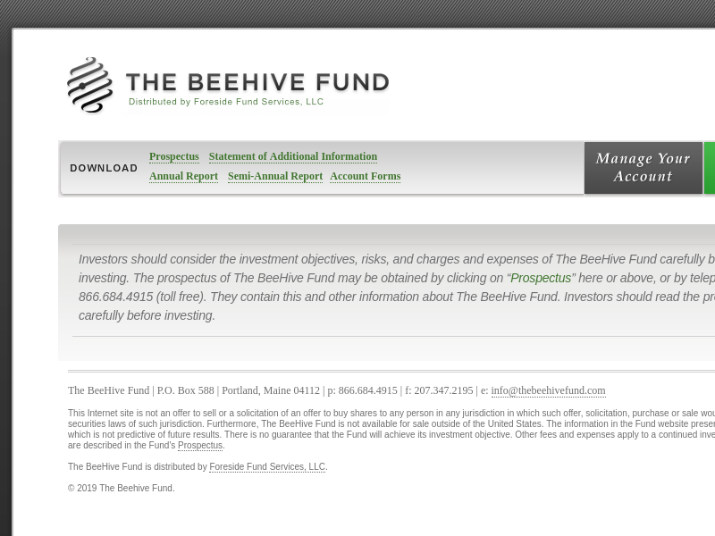 The BeeHive Fund