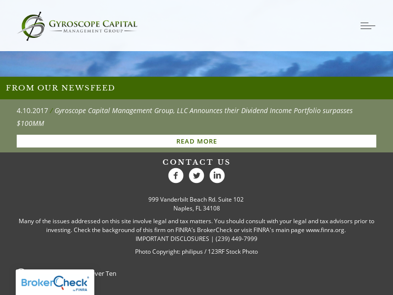 Home — Gyroscope Capital Management Group