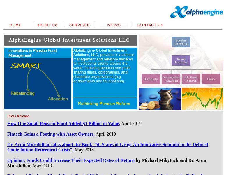Alphaengine Global Investment Solutions LLC PLANO , TX