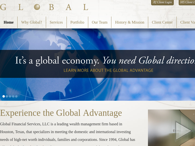 Global Financial Services | A leading wealth management firm