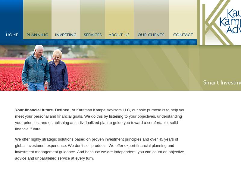 welcome to kaufman kampe advisors