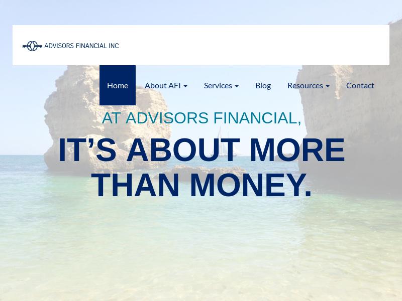 Home   Advisors Financial Inc