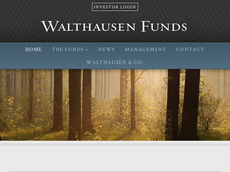 Home page - Walthausen Funds