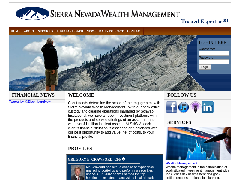 Sierra Nevada Wealth Management