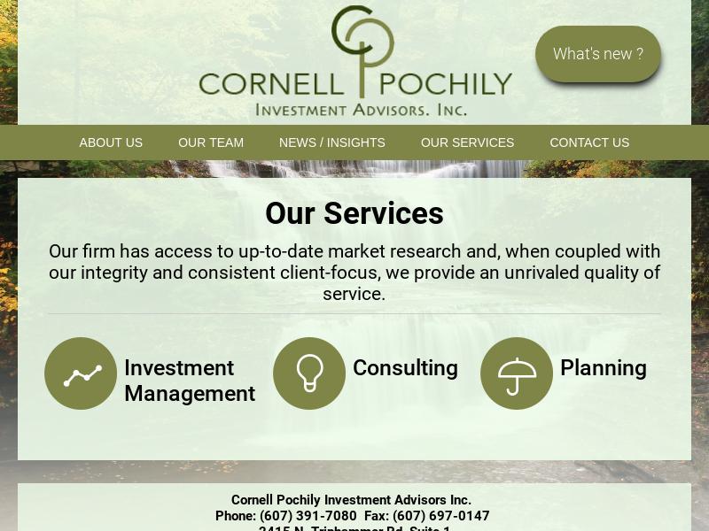 Cornell Pochily