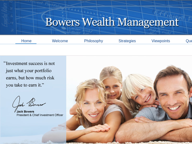 Bowers Wealth Management: Home