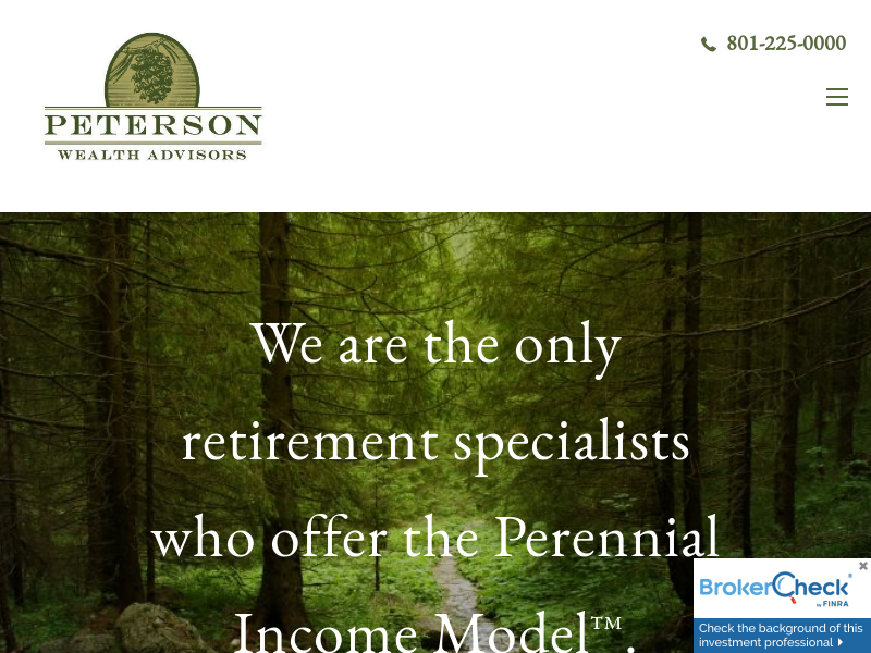 Home | Peterson Wealth Advisors