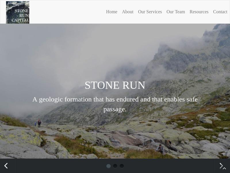 Home | Stone Run Capital, LLC