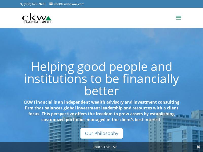 CKW Financial Group- Hawaii