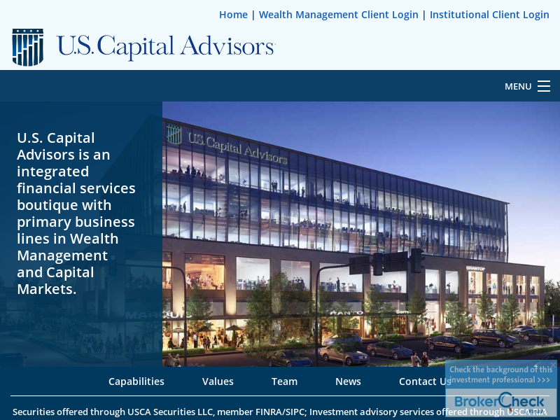 US Capital Advisors - Houston Texas