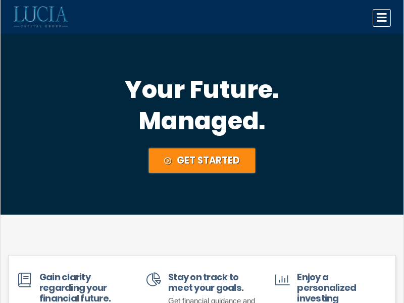Financial Planning, Retirement, and Investing » Lucia Capital Group