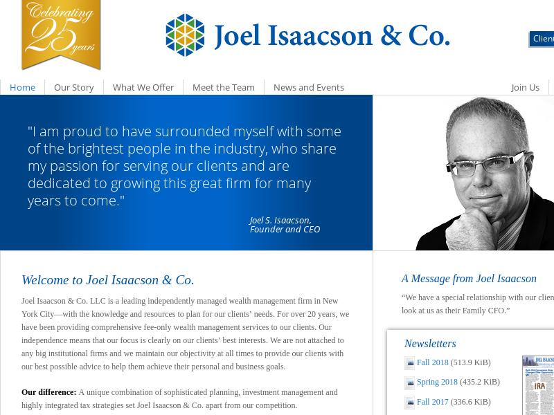 Welcome to Joel Isaacson & Co. - Joel Isaacson & Co.Joel Isaacson & Co.