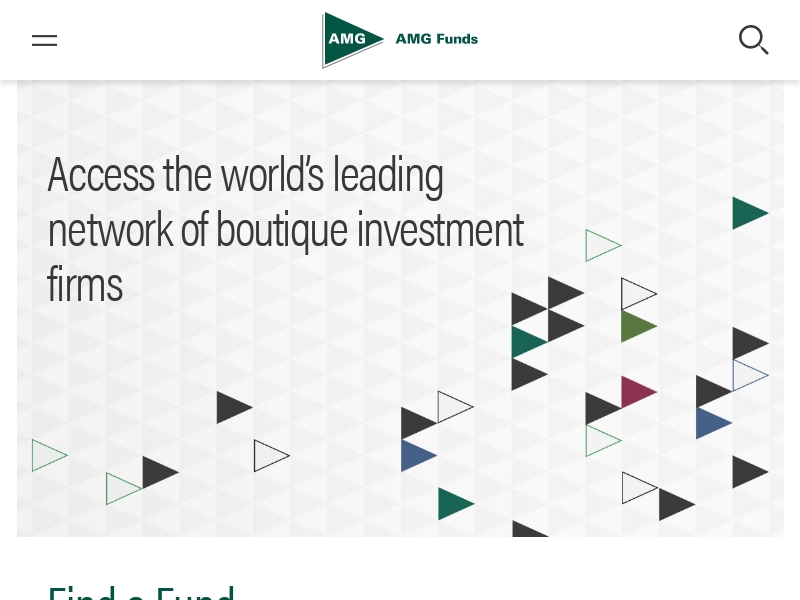 AMG Funds | World Leader in Boutique Investing