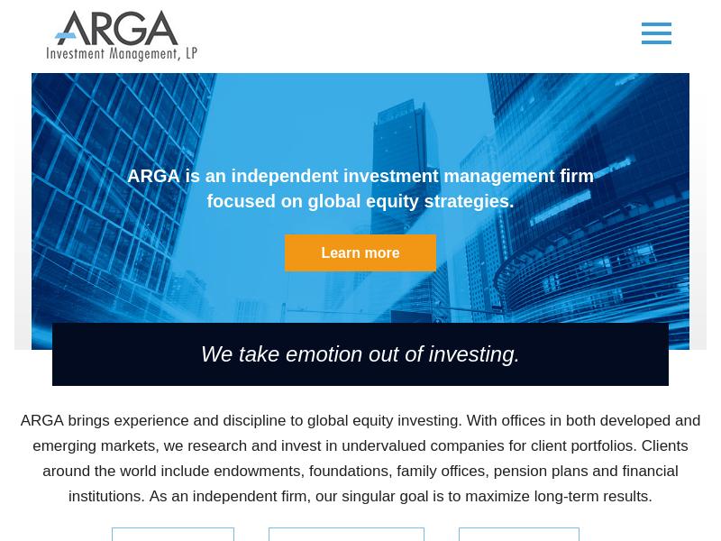 Arga Investment Management, LP