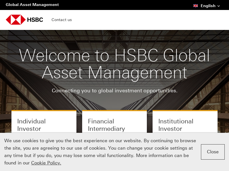 Global Asset Management from HSBC in the UK