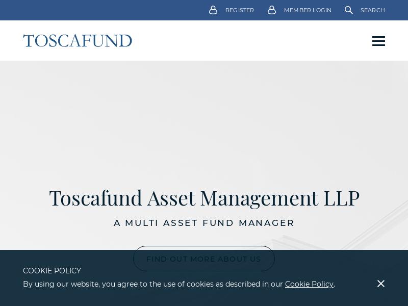 Toscafund | Home
