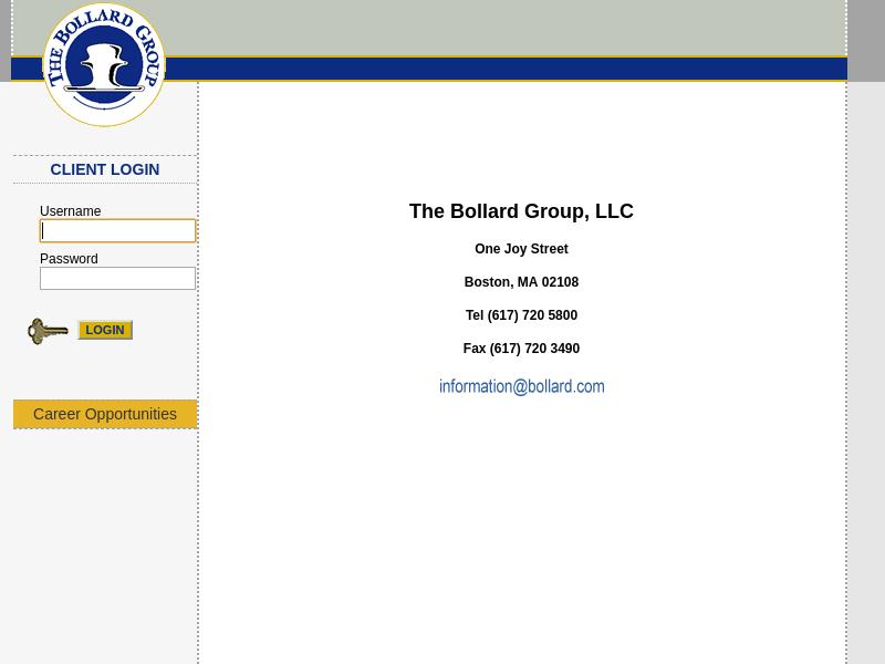 The Bollard Group LLC Home Page