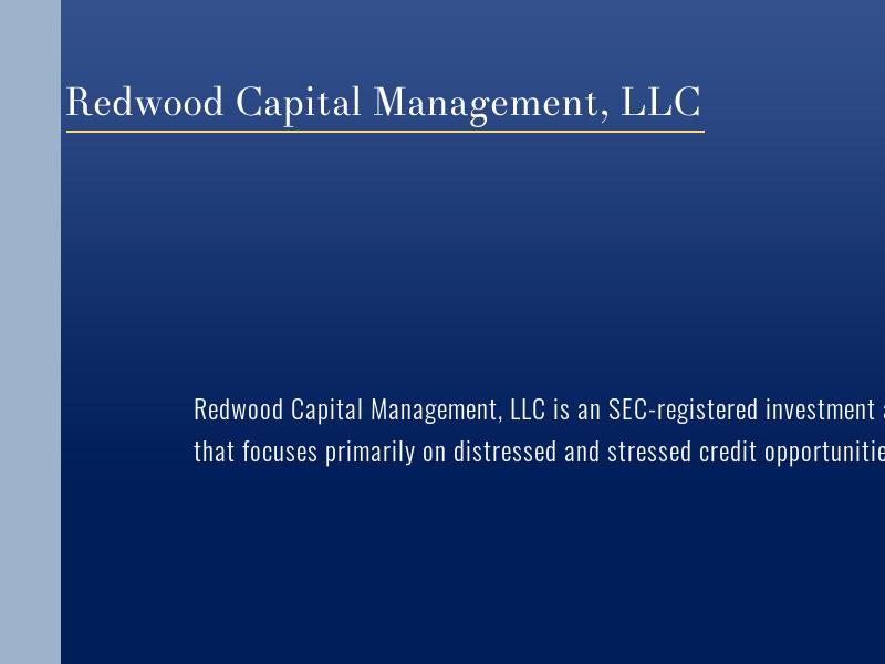 Home   Redwood Capital Management