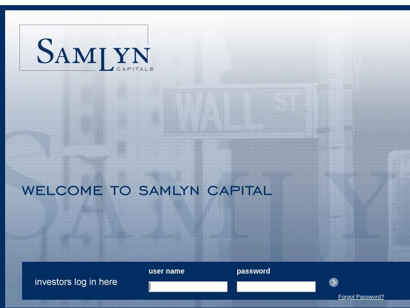 Samlyn Capital, LLC